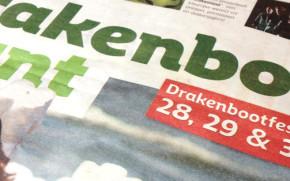 banner drakenbootfestival 2013