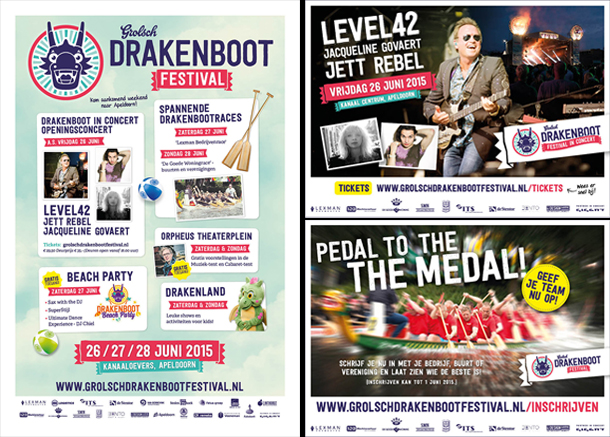 Drakenboot advertenties-stentor